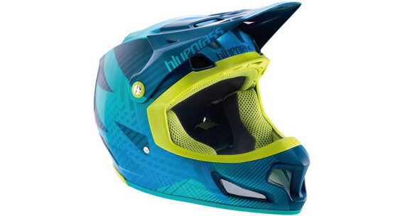 bluegrass Brave Downhill helm blauw